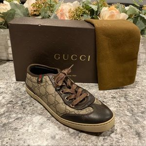 Authentic Gucci Sneakers Size 5.5